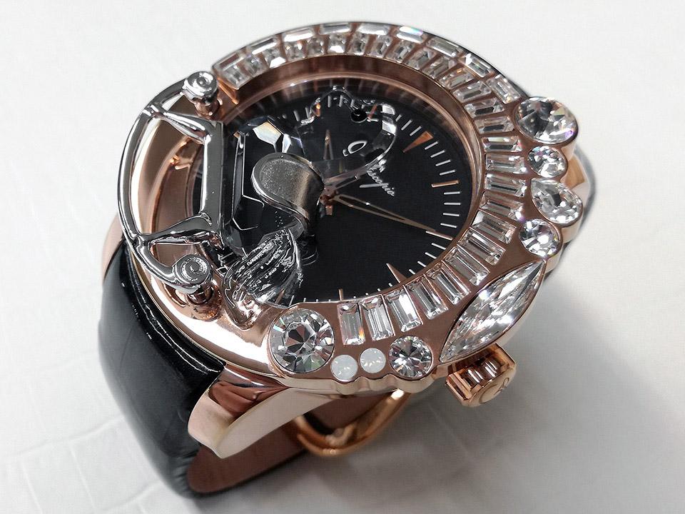 キラキラ腕時計 ガルティスコピオ 馬15