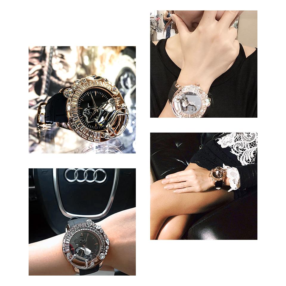 ガルティスコピオ レディース腕時計