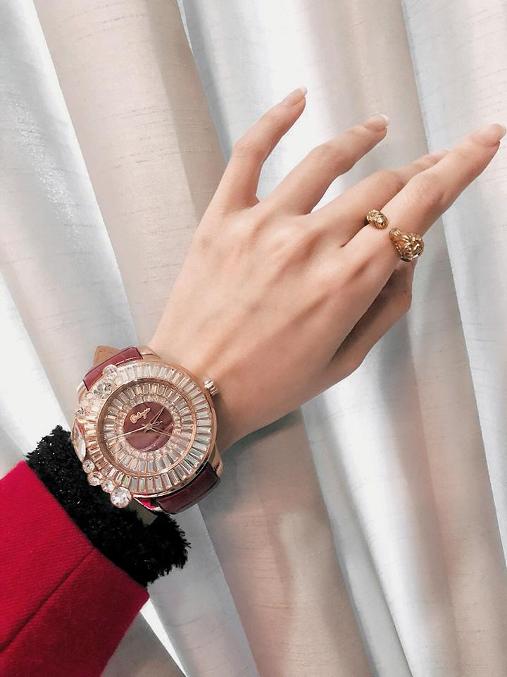 キラキラ腕時計新作 SHINY SIMPLE