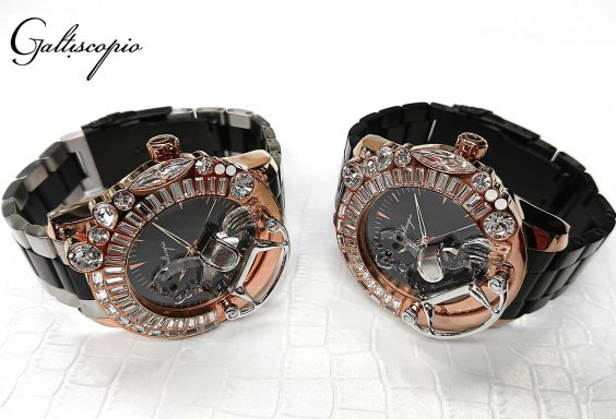 ガルティスコピオ メンズ腕時計