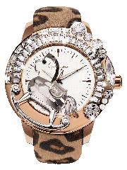 キラキラ時計 ガルティスコピオの LEOPARD コレクション