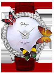 キラキラ時計 ガルティスコピオの MES ELEGANT コレクション