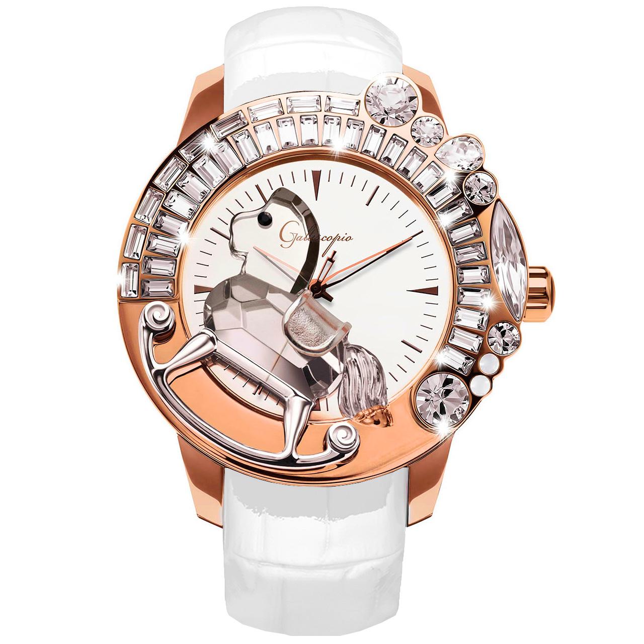 ガルティスコピオはスワロフスキーを使ったキラキラ時計のブランド