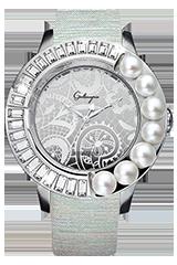 キラキラ時計 ガルティスコピオの AMOUR PERLE コレクション
