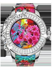 キラキラ時計 ガルティスコピオの GLORIOUS コレクション